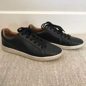 Black Patent Leather Style Zara Sneakers